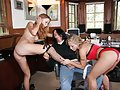 Kylie Wylde and Laila Mason got together to show off their dainty feet and cover it with jizz