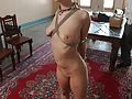 Torn is reviewed, she is fucked, slapped, whipped and made to cum.